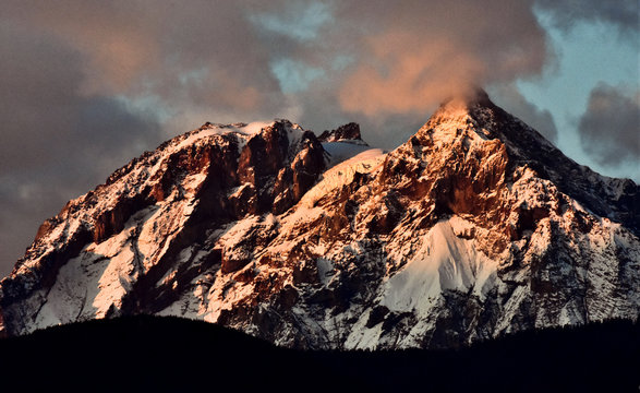 Stratovolcano, Garibaldi Mountain