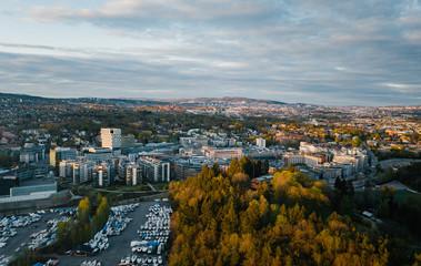 The South Norwegian town Skoyen