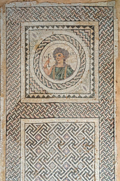 Floor mosaic from Complex of Eustolios at Kourion (Cyprus)