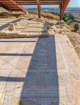 Mosaic in the Complex of Eustolios at Kourion