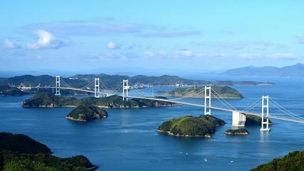 Wall Mural - 来島海峡大橋と来島海峡