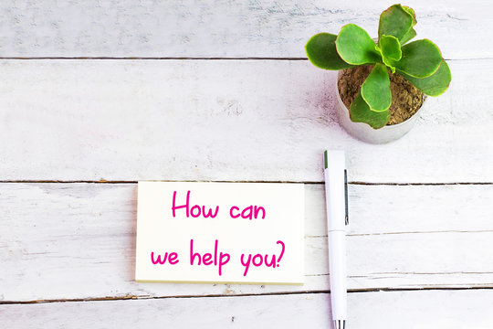 How can we help you on card