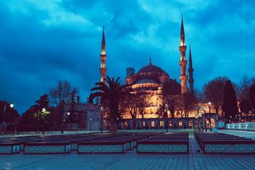 Stores à enrouleur Europe de l Est Blue Mosque in Istanbul