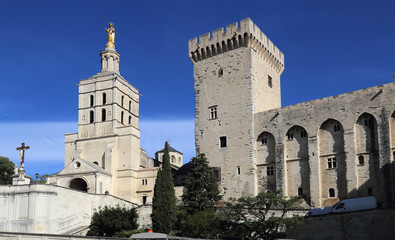 Pope's palace in Avignon, France