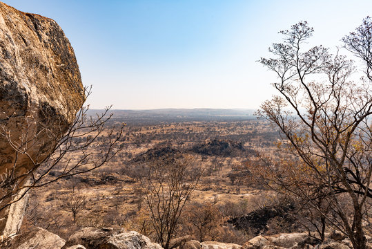 Matopos National Park in southern Zimbabwe