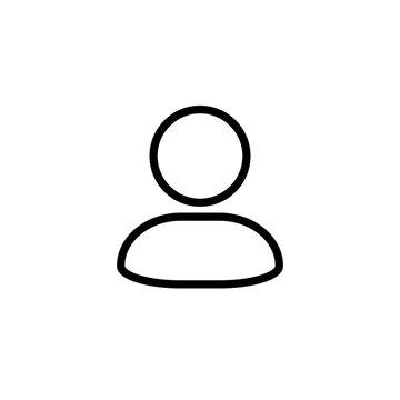 Account Icon Design Vector Template