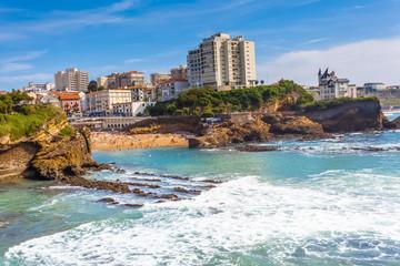 Biarritz, côte basque, France