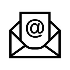 poczta e-mail ikona - fototapety na wymiar