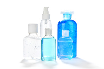 Different type of hand sanitizers for personal hygiene fights COVID-19