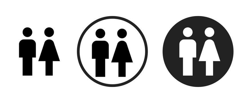 wc icon . web icon set .vector illustration
