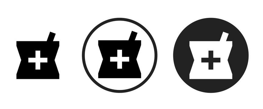 local pharmacy icon . web icon set .vector illustration