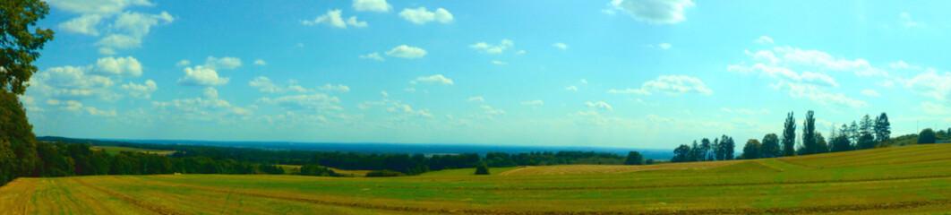 Widok z Góry świętej Anny - panorama