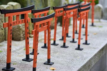 Small Inari torii gates