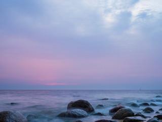 Kamienie na plaży