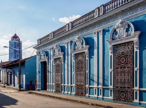 Colonial House in Sancti Spiritus, Sancti Spiritus Province, Cuba