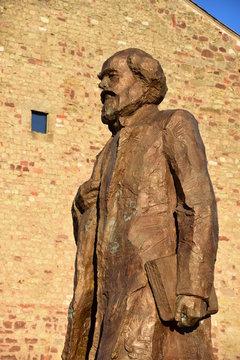 Bronze-Statue von Karl Marx in Trier