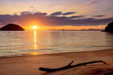Sunrise in Abel Tasman National Park, South Island of New Zealand
