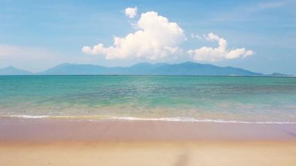Wall Mural - Beautiful tropical beach and sea
