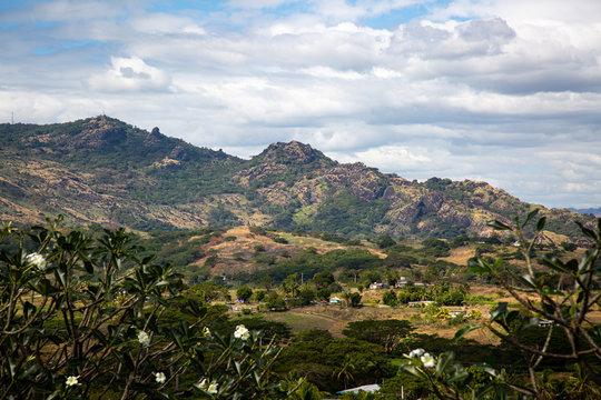 Sleeping giants mountants Nadi Fiji holiday