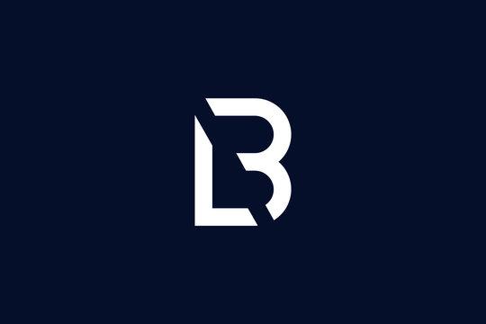 Initial based clean and minimal letter. LB logo creative fonts monogram icon symbol. Universal elegant luxury alphabet vector design