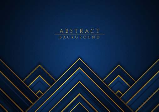 Luxury background overlap layer style wave shape design with space