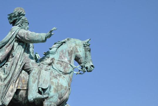 Kaiser Wilhelm I Denkmal auf Burg Hohensyburg, Deutschland
