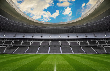 empty stadium - sport events without people