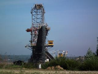 Fototapeta maszyna górnicza obraz