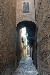 Wall Mural - Old street of Forli, Emilia Romagna