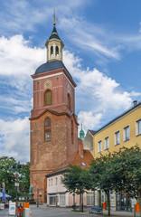 Fototapete - Saint Nicholas church in Spandau, Germany