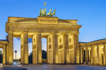 Fototapete - Brandenburg Gate, Berlin, Germany