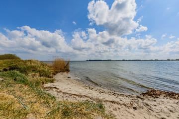Insel Rügen - Naturstrand bei Venzvitz, Strelasund