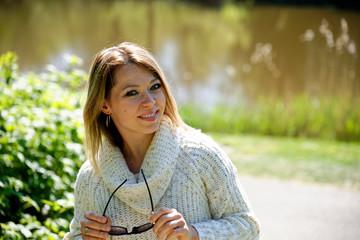 Fototapeta Piękna dziewczyna portret  obraz