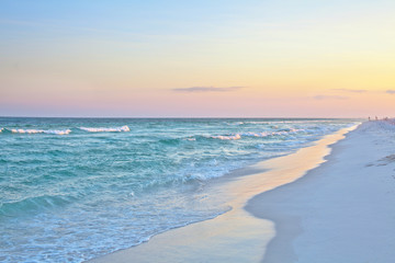 beach sunset, destin beach, pensacola beach, beach, florida, emerald beaches, sugar sand, panhandle, tropics, paradise, sunset, pink sand