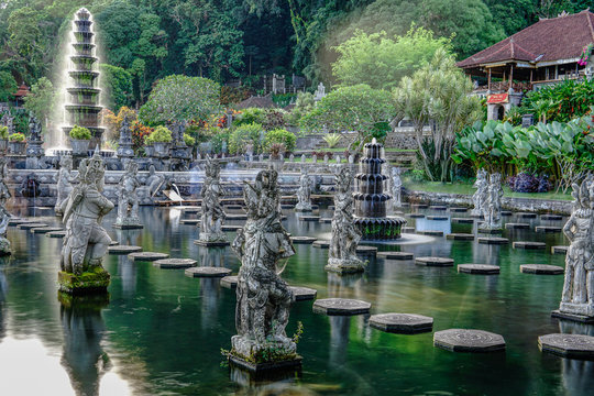 Visiting Hindu Temple in Eastern Bali, Indonesia