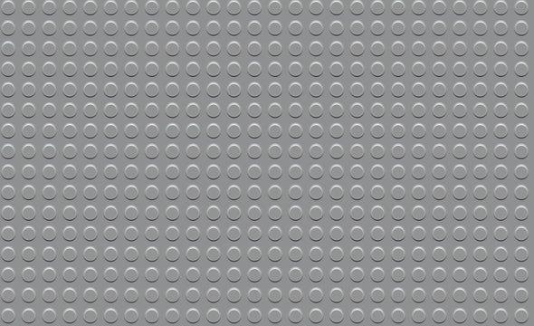 Seamless Gray Constructor Background. lego concept