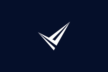 Initial based clean and minimal letter. V logo creative and monogram icon symbol. Universal elegant luxury alphabet vector design