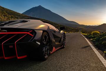 The Lamborghini Centenario super sports car on Tenerife