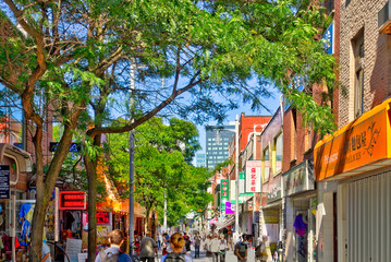 Fotomurales - Historical landmarks in Montreal, Canada