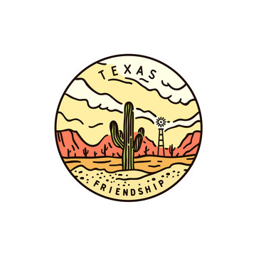 Texas. Desert Cactus