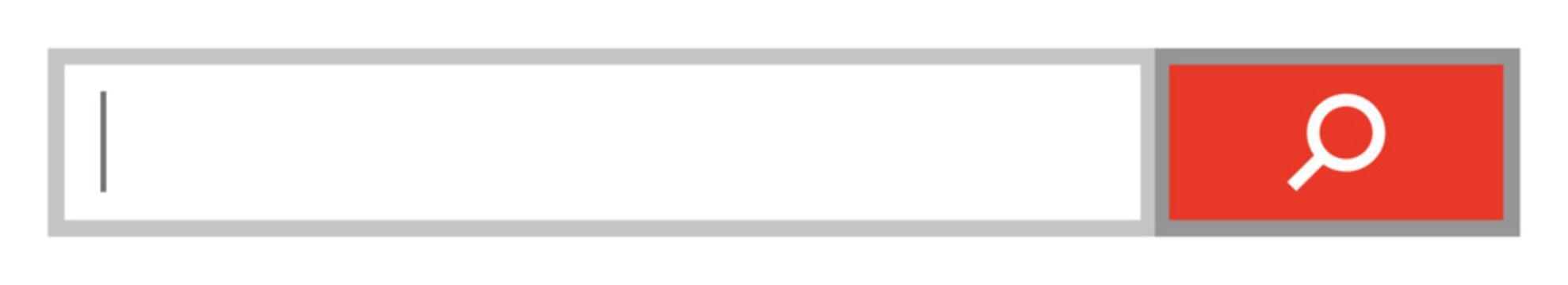 インターネットの検索バー