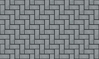 gray pavement top view seamless