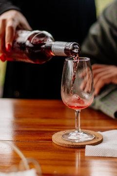 Wine Tasting in Portugese Vineyard
