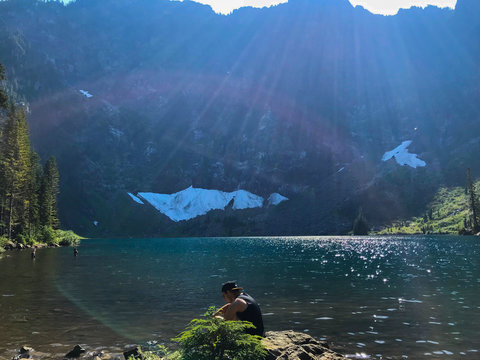 Crystal blue Lake Twenty-two