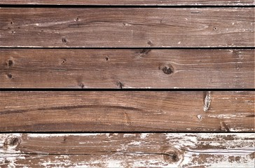 Wooden boards of beautiful color