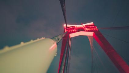 Foto auf Gartenposter Rotterdam Rotterdam Brücke