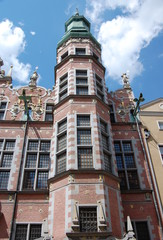 Gdańsk, Zbrojownia, wieża. Stan z 2011 roku.