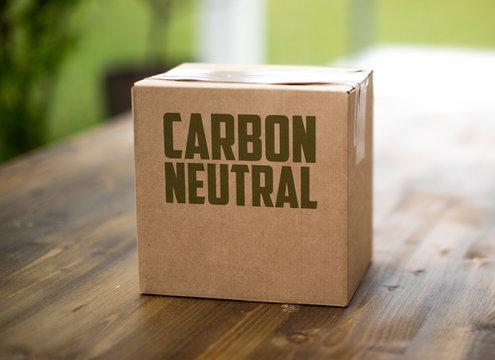 Co2 Carbon Neutral Shipping Box