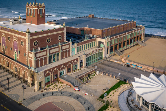 Drone Aerials of Asbury Park New Jersey