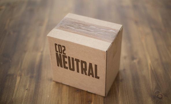 co2 neutraler versand karton
